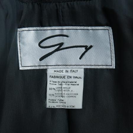GENNY(제니) 캐시미어 혼방 챠콜 컬러 자켓 이미지5 - 고이비토 중고명품
