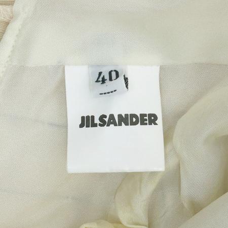 Jilsander(질샌더) 아이보리 컬러 파워 숄더 자켓 이미지4 - 고이비토 중고명품