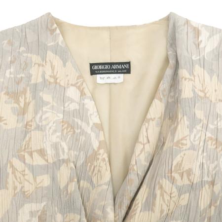 GIORGIO ARMANI(조르지오 아르마니) 플라워 패턴 멀티 컬러 자켓