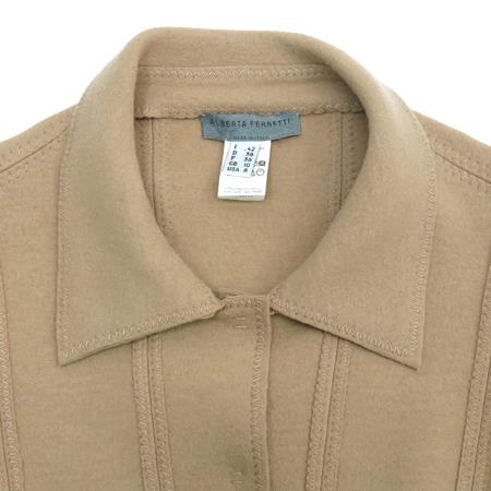 ALBERTA FERRETTI(알베르타 페레티) 베이지 컬러 자켓