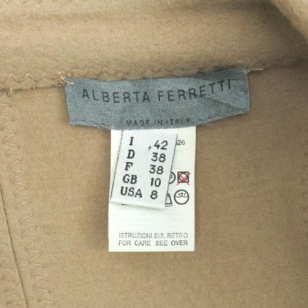 ALBERTA FERRETTI(알베르타 페레티) 베이지 컬러 자켓 [대구반월당본점] 이미지5 - 고이비토 중고명품