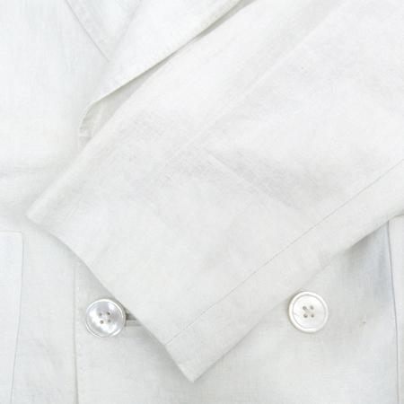 Polo Ralphlauren(폴로) 화이트 컬러 린넨 자켓