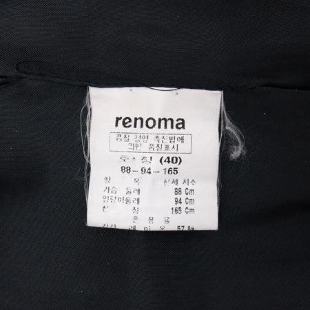 RENOMA(레노마) 챠콜 컬러 코트