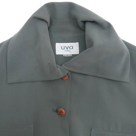 UVA(우바) 카키 컬러 자켓 이미지2 - 고이비토 중고명품