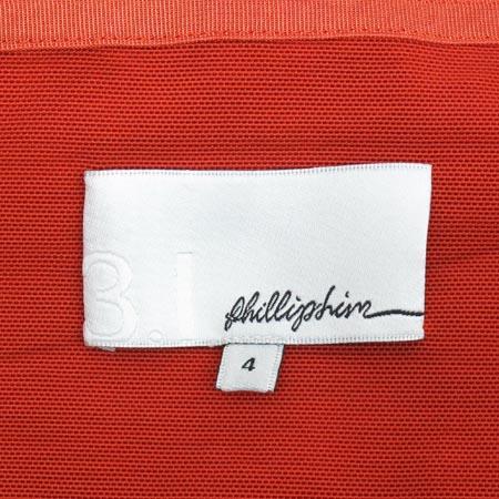 3.1 PHILLIP LIM(필립림) 스칼렛 컬러 지퍼 트임 스커트