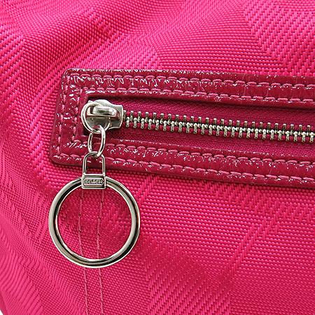 Coach(코치) F14873 핑크 시그니처 로고 데이지 호보 숄더백[부천 현대점]