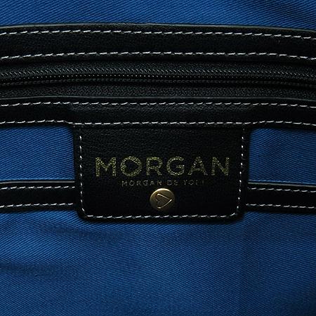 MORGAN(모르간) 로고 PVC 레더 쇼퍼 숄더백