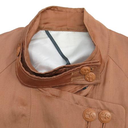 System(시스템) 레드브라운컬러 마혼방 자켓