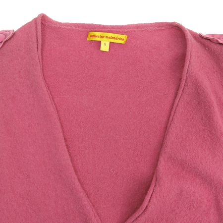 catherine malandrino(케서린말란드리노) 핑크컬러 실크혼방 가디건 [강남본점] 이미지2 - 고이비토 중고명품