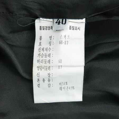 Jilsander(질샌더) 그레이컬러 마혼방 정장