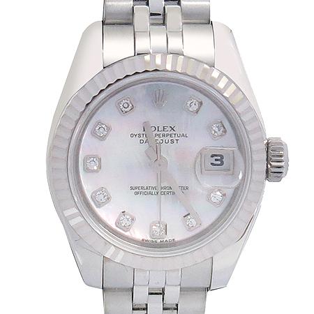 Rolex(로렉스) 179174 10포인트 다이아 자개판 DATEJUST(데이트저스트) 여성용 시계 이미지2 - 고이비토 중고명품