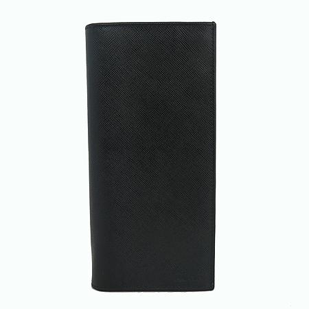 Prada(프라다) 2M0836 사피아노 블랙 레더 장지갑 [일산매장]