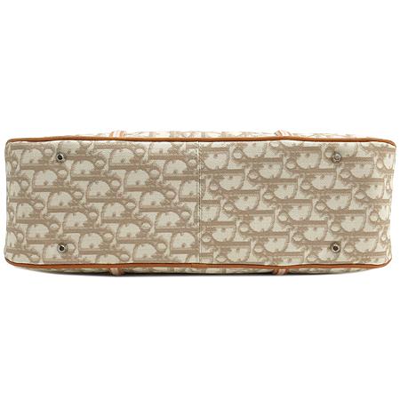 Dior(크리스챤디올) 은장 로고 하트 장식 PVC 체인 숄더백