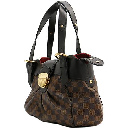 Louis Vuitton(루이비통) N41542 다미에 에벤 캔버스 시스티나 PM 숄더백 [동대문점] 이미지2 - 고이비토 중고명품