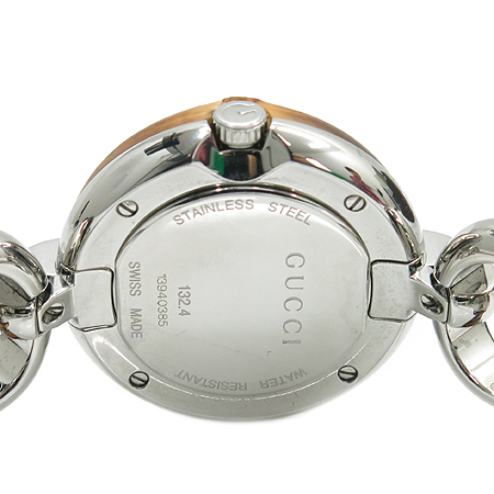 Gucci(구찌) 299096 132.4 뱀부 베젤 장식 여성용 시계