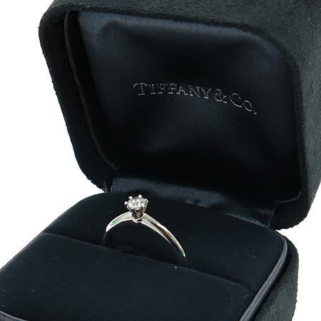 Tiffany(티파니) PT950 (플래티늄) 0.24 캐럿 I컬러 VS2 다이아 반지 이미지2 - 고이비토 중고명품