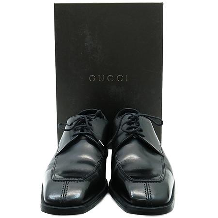 Gucci(구찌) 101768 블랙 컬러 레더 남성용 구두