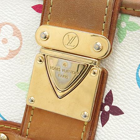 Louis Vuitton(루이비통) M40049 모노그램 멀티 컬러 화이트 셜리 클러치겸 숄더백 이미지4 - 고이비토 중고명품