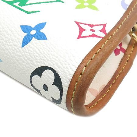 Louis Vuitton(루이비통) M40049 모노그램 멀티 컬러 화이트 셜리 클러치겸 숄더백 이미지5 - 고이비토 중고명품