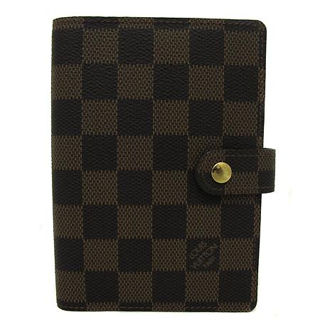 Louis Vuitton(루이비통) R20700 다미에 에벤 캔버스 스몰링 아젠다 커버 다이어리 [부천 현대점]