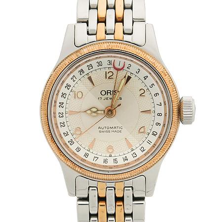 ORIS(오리스) 7400B 콤비 시스루백 남녀공용 오토매틱 시계