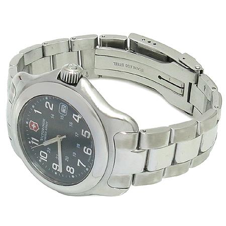 VICTORINOX(빅토리녹스) V25706 ARMY OFFICER 스틸 브레이슬릿 남성 시계 이미지2 - 고이비토 중고명품