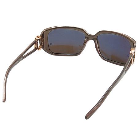 Montblanc(몽블랑) MB172S 측면 금장 로고 장식 뿔테 선글라스