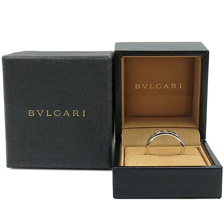 Bvlgari(불가리) 18K(750) 화이트 골드 NEW BB 1포인트 다이아 반지 - 21호