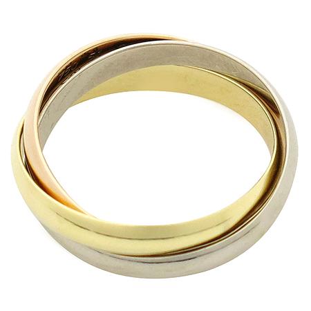 Cartier(까르띠에) B4086151 18K골드 트리니티 삼색링 반지-11호[부천 현대점]