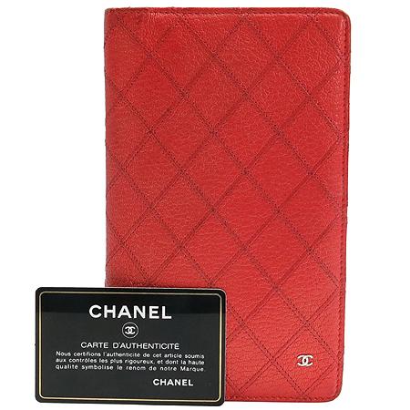 Chanel(샤넬) 레드펄 퀼팅 COCO로고 장지갑 [동대문점]