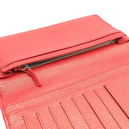 Chanel(샤넬) 레드펄 퀼팅 COCO로고 장지갑 [동대문점] 이미지6 - 고이비토 중고명품