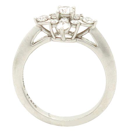 Tiffany(티파니) PT950 (플래티늄) STARBURST (스타버스트) 다이아 반지