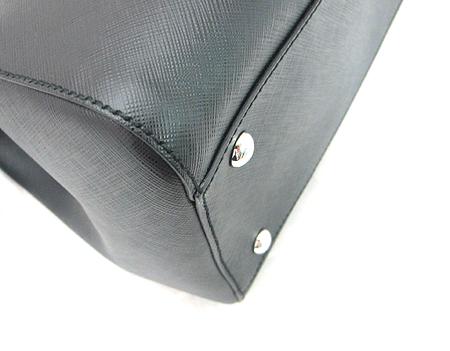 Ferragamo(페라가모) 21 D940 블랙 사피아노 은장 로고 2WAY [분당매장]