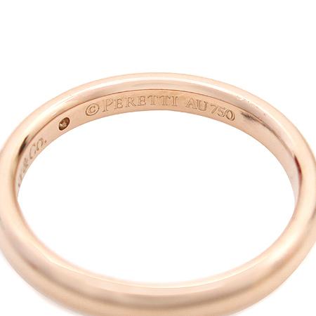 Tiffany(티파니) 18K 핑크골드 ELSA PERETI (엘사 페레티) 1포인트 다이아 반지 - 13호