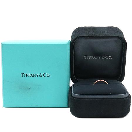 Tiffany(티파니) 18K 핑크골드 ELSA PERETI (엘사 페레티) 1포인트 다이아 반지 - 6호