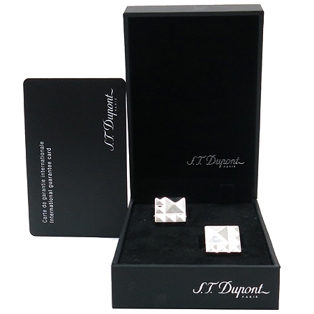 Dupont(듀퐁)  CC5222 다이아몬드 헤드 커프스링크 [압구정매장]