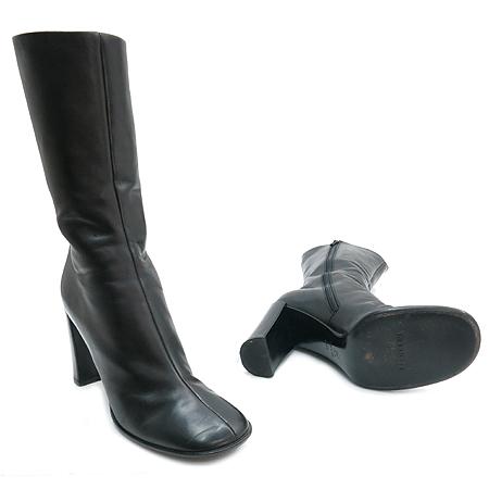 Jilsander(질샌더) 블랙 레더 여성용 롱부츠 이미지2 - 고이비토 중고명품