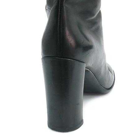 Jilsander(질샌더) 블랙 레더 여성용 롱부츠 이미지4 - 고이비토 중고명품