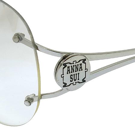Anna Sui(안나수이) AS61601 이니셜 라운드 장식 무테 원형 선글라스 [동대문점]