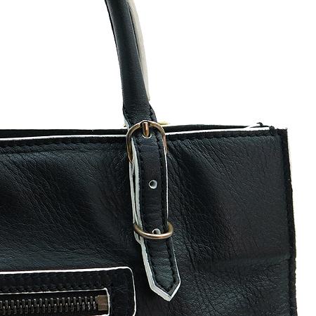 Balenciaga(발렌시아가) 305572 블랙 화이트 투톤 미니 모터 토트백 + 스트랩[인천점] 이미지4 - 고이비토 중고명품