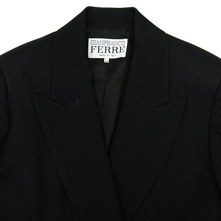 FERRE(페레) 블랙컬러 더블버튼 자켓