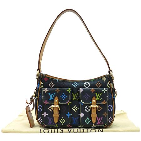 Louis Vuitton(루이비통) M40054 모노그램 멀티 블랙 롯지PM 숄더백