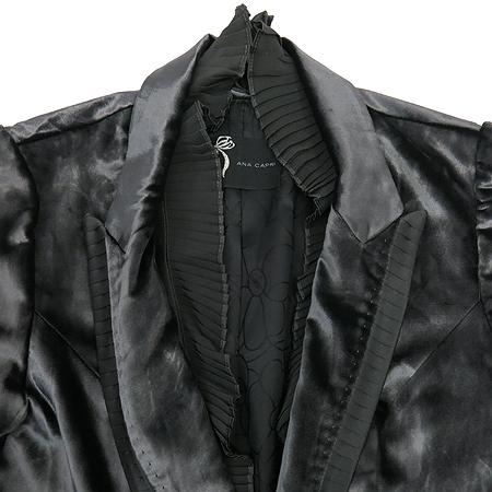 ANACAPRI(아나카프리) 그레이컬러 벨벳 자켓