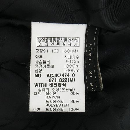 ANACAPRI(아나카프리) 그레이컬러 벨벳 자켓 이미지5 - 고이비토 중고명품
