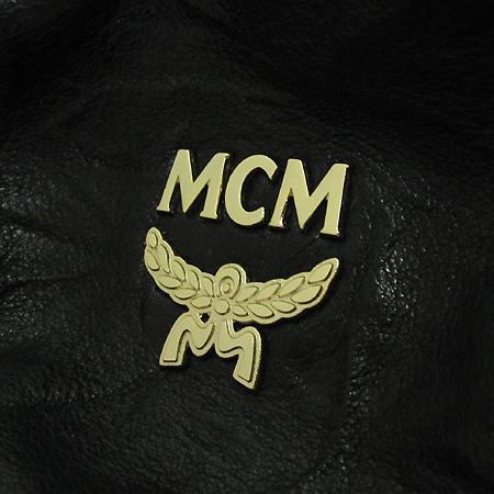 MCM(엠씨엠) MWP1SXL07BK 블랙 링클 레더 라피네 쇼퍼백 [부천 현대점]