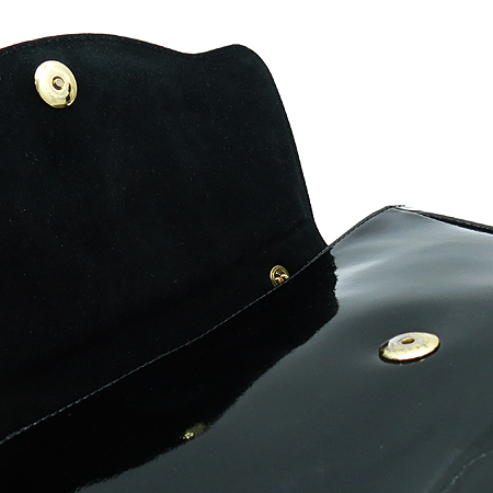 Vivienne_Westwood (비비안웨스트우드) 4694V ORB장식 블랙 페이던트 금장 체인 숄더백
