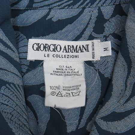 GIORGIO ARMANI(조르지오 아르마니) 루즈핏 플라워 남방