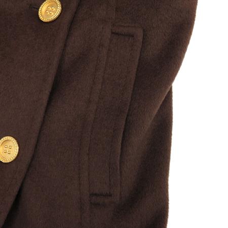FONTANA COUTURE 브라운컬러 캐시미어혼방 코트 (허리끈SET / MADE IN ITALY)