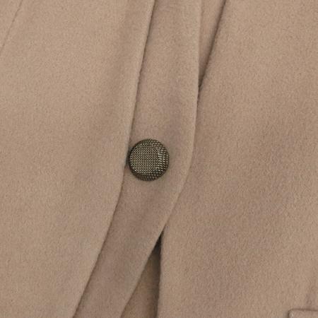 MOJO.S.PHINE(모조에스핀) 베이지컬러 캐시미어혼방 1버튼 자켓