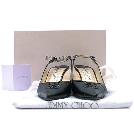 JIMMY CHOO(지미추) 블랙 래더 여성용 샌들
